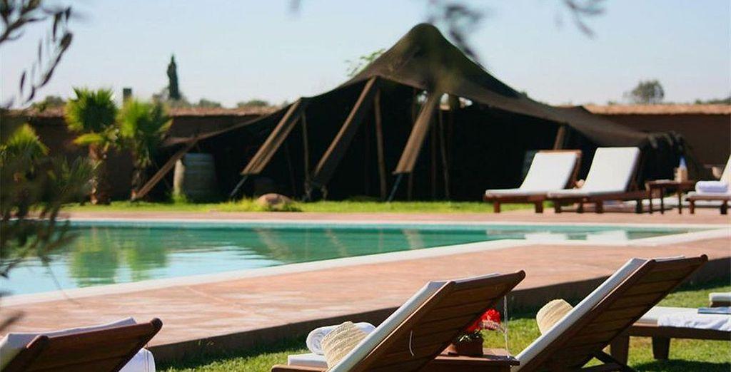 Où vous prendrez place à l'Eco Lodge Quaryati