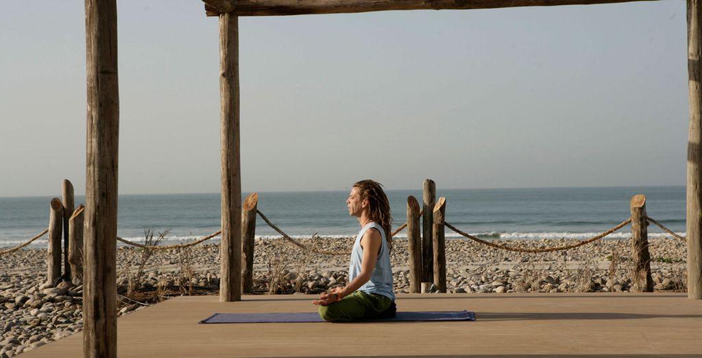 Vous permettra de pratiquer le yoga...