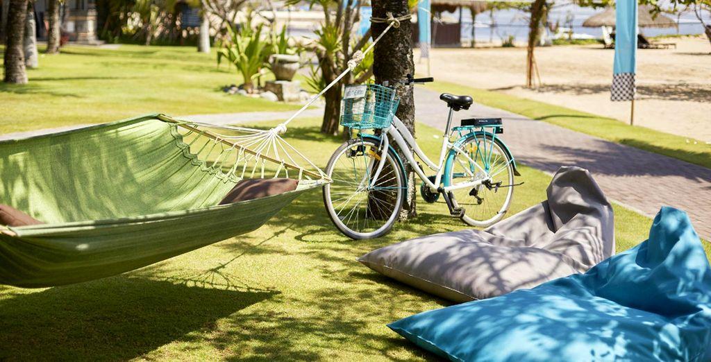 Baladez-vous à vélo dans les jardins