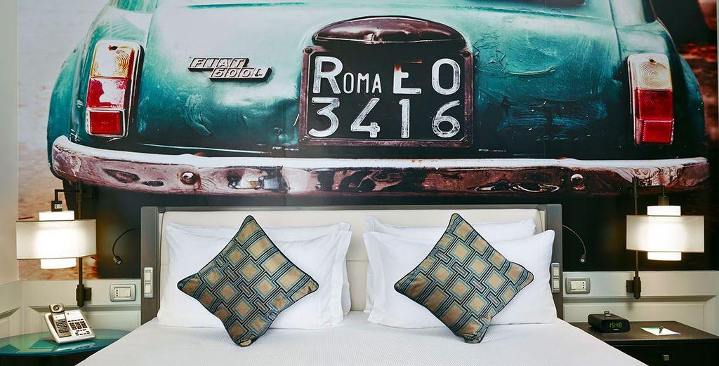 Posez vos valises dans une chambre Superior élégante et confortable