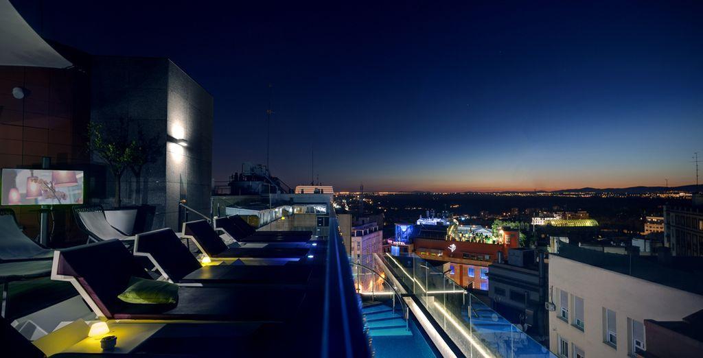 Et admirez la splendide vue panoramique...