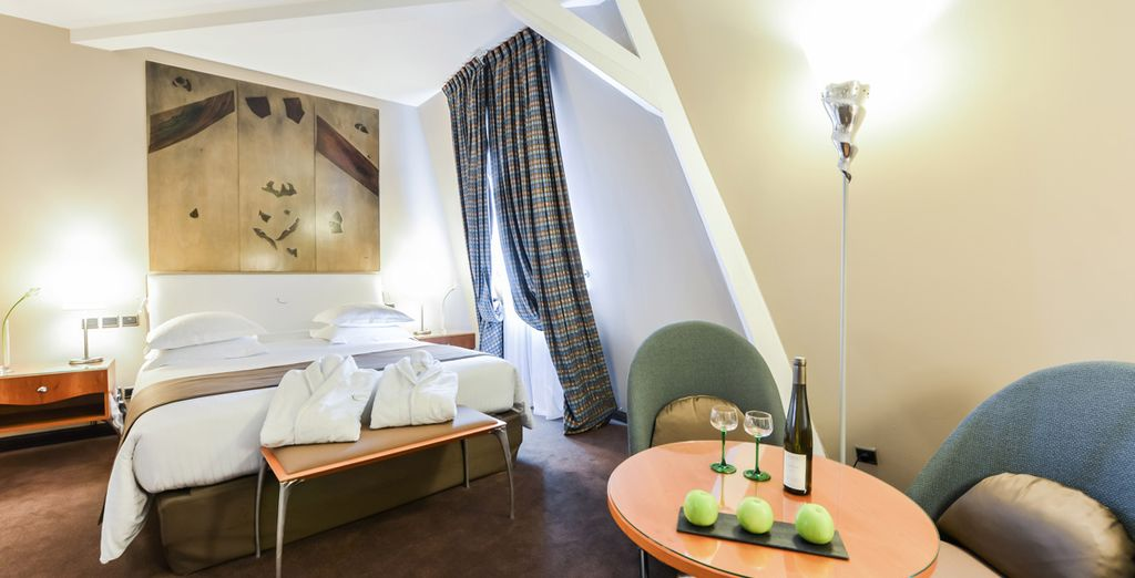 ...cet hôtel a su adopter une décoration moderne
