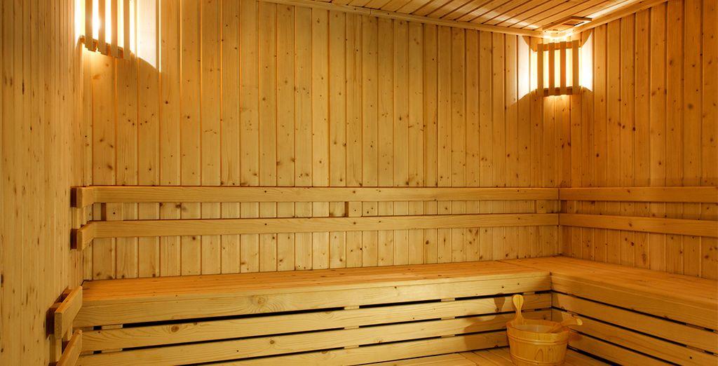 Assainissez-vous au cours de quelques séances détox au sauna...