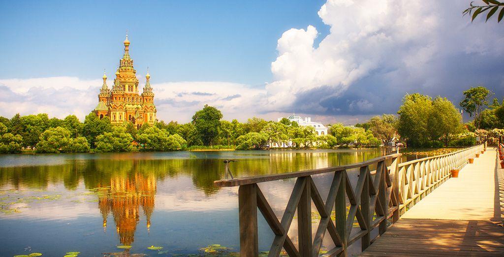 Vous aurez l'occasion de visiter Peterhof