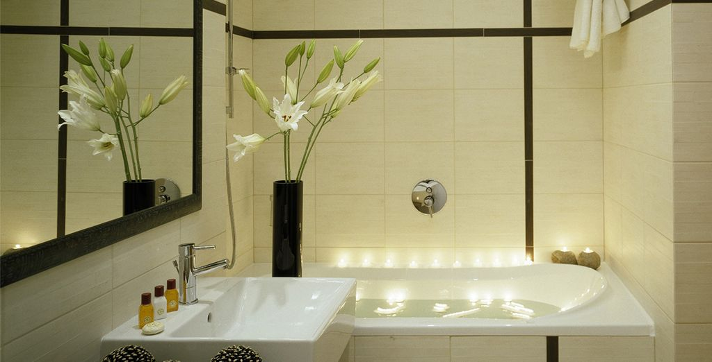 Détendez-vous dans la salle de bains