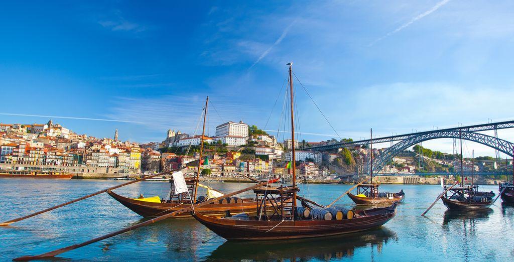 Pour un city break à  Porto, sur les rives du Douro !