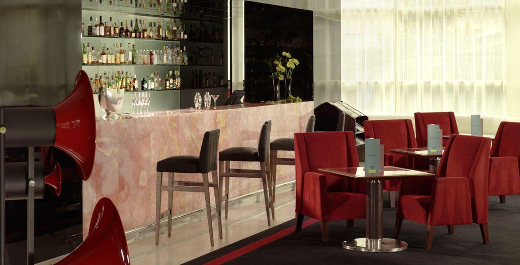 Prenez une pause rafraîchissante au bar