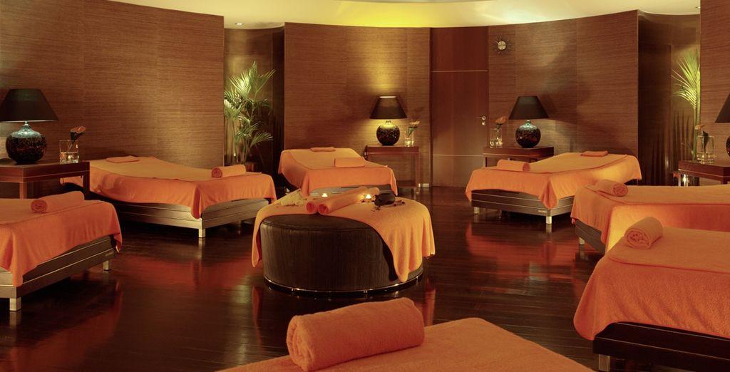 Puis détendez-vous dans la salle de relaxation du Spa!