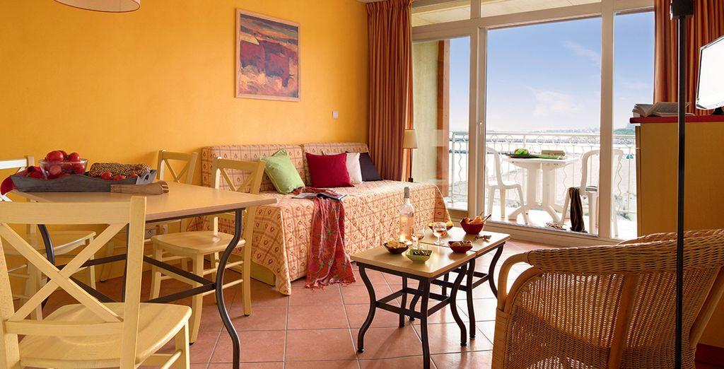 Dans un appartement spacieux et fonctionnel - Club Belambra Le Vidourle Grau-du-Roi