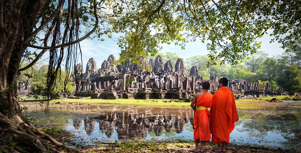 Vous terminerez en beauté au Cambodge en explorant la mythique cité d'Angkor