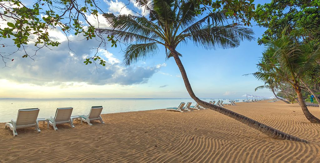 À vous les plages de Bali...