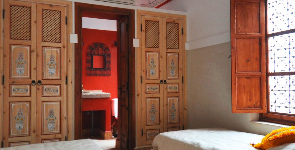 Charme authentique en chambre Euphorbe