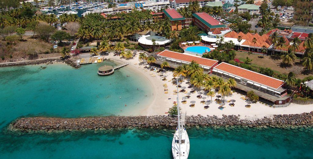Bon séjour sous le soleil des Antilles...