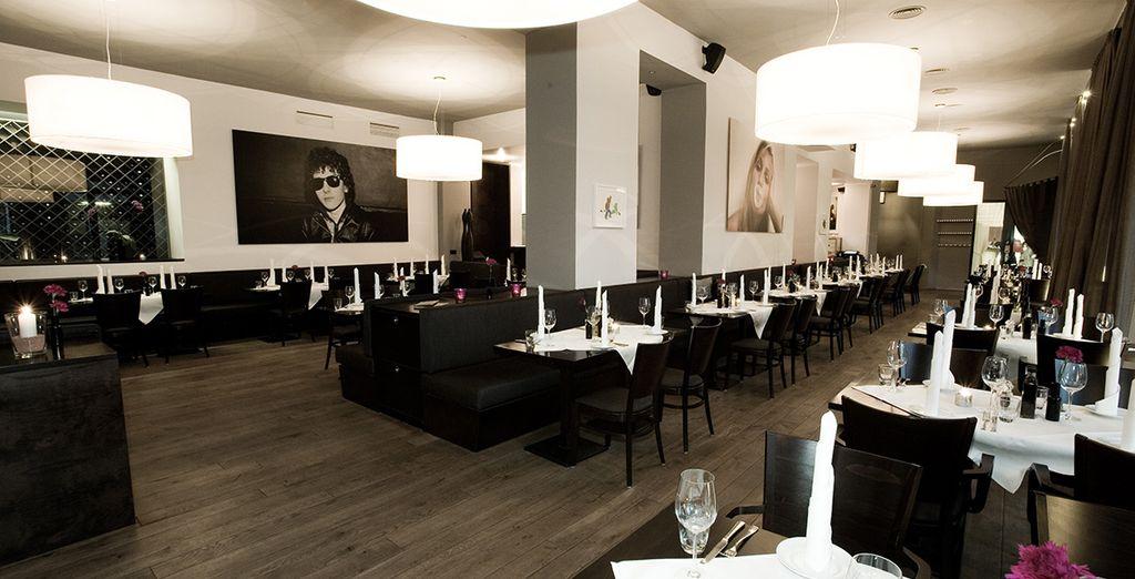 Et rejoignez le restaurant Luchs où vous savourerez une cuisine moderne d'inspiration italo-germanique