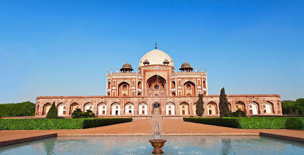De la capitale Delhi
