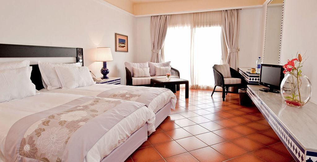 Choisissez une chambre tout confort