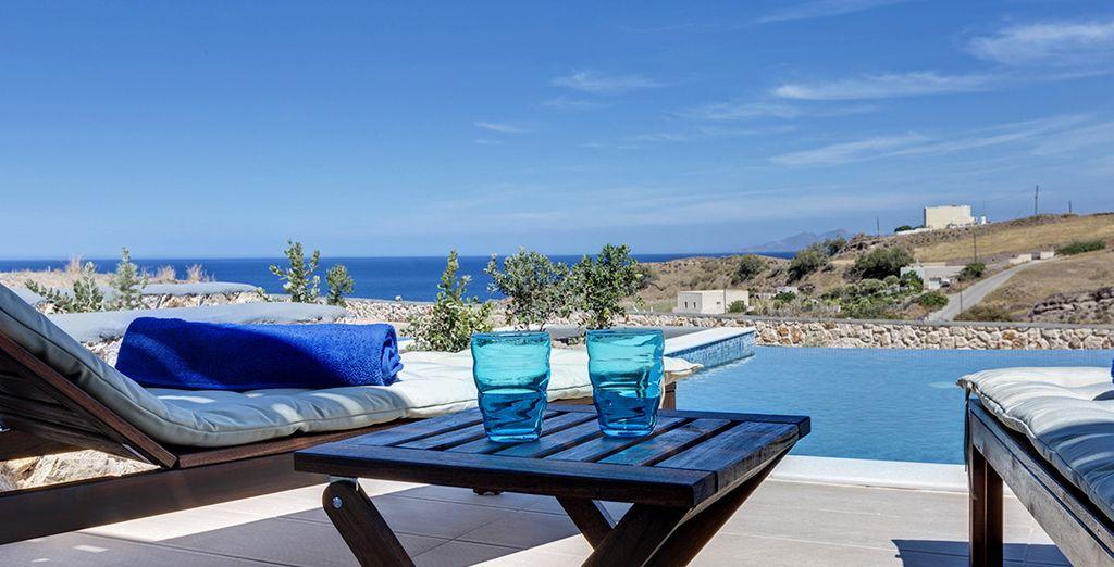Où vous pourrez choisir entre piscine privée ou mer...