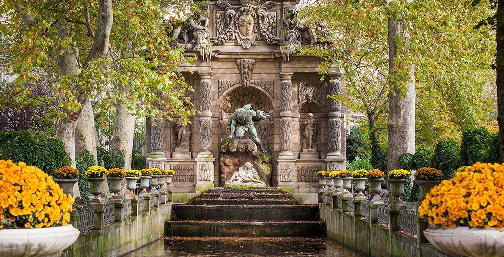 Faites un tour par les jardins du Luxembourg...