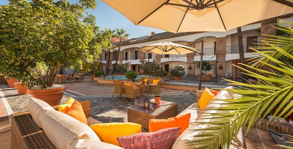 Hôtel de luxe en Espagne, près de Marbella