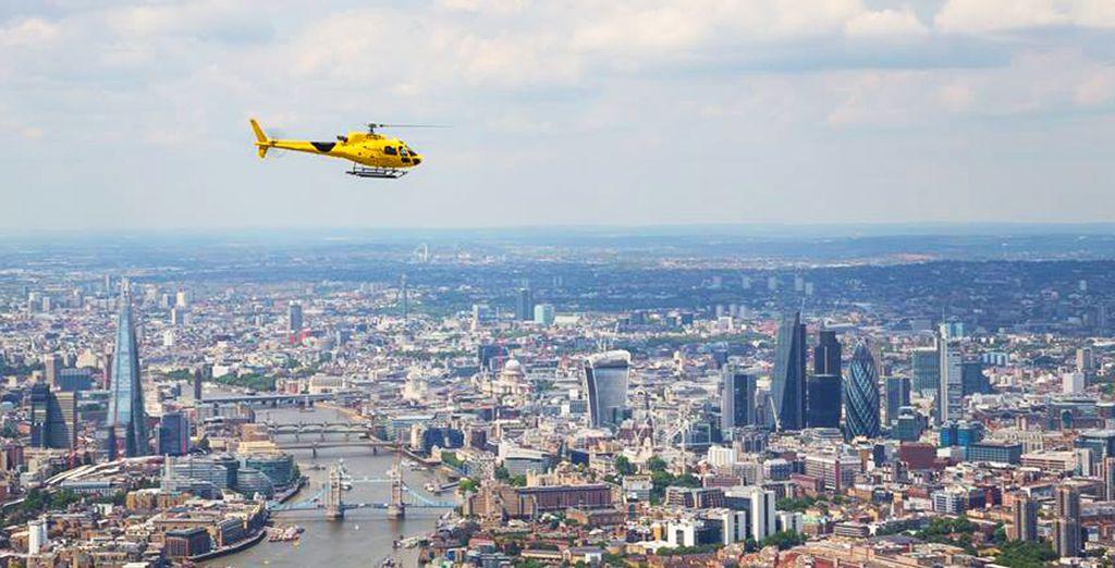 et profitez de Londres depuis les airs.