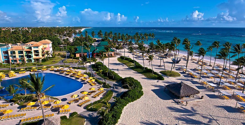 Bienvenue à l'hôtel Ocean Blue & Sand 5*