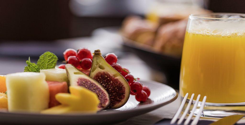 Profitez de la formule petit-déjeuner pour un moment de plaisir dès le réveil...