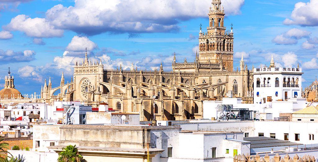 ... et arpenter les rues de Séville