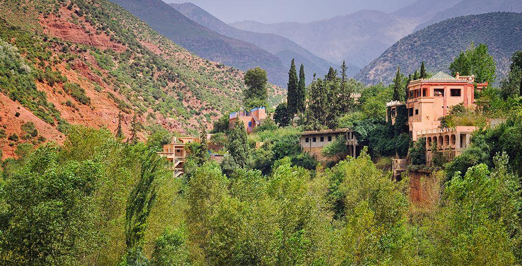 Ou encore les villages berbères
