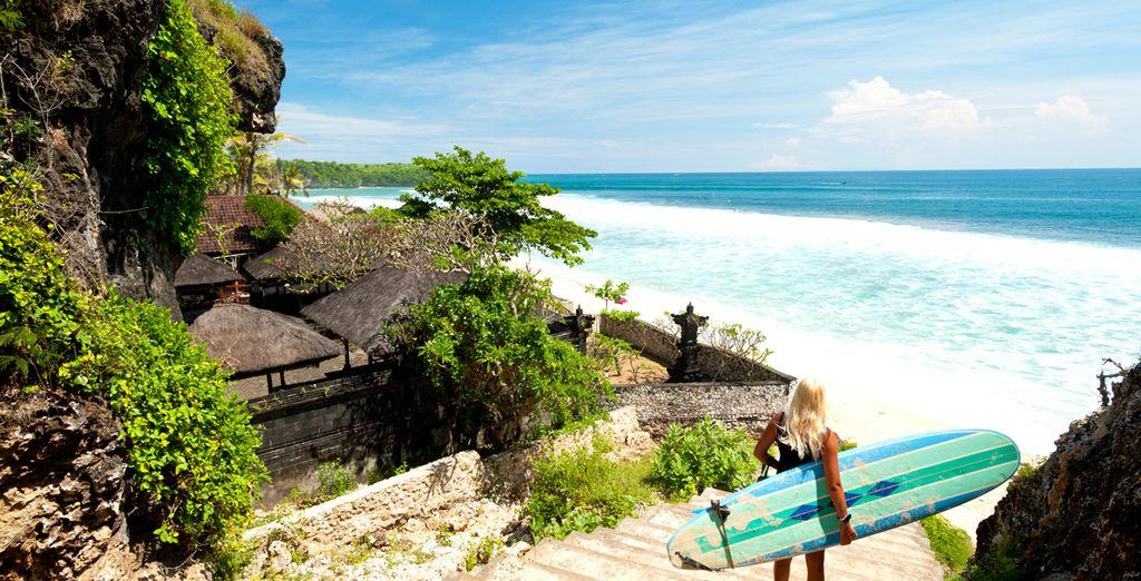 Des plages invitant à la baignade...
