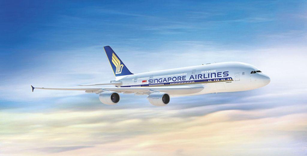Vous en voulez encore plus ? Choisissez de voler en A380 avec Singapore Airlines entre Paris et Singapour