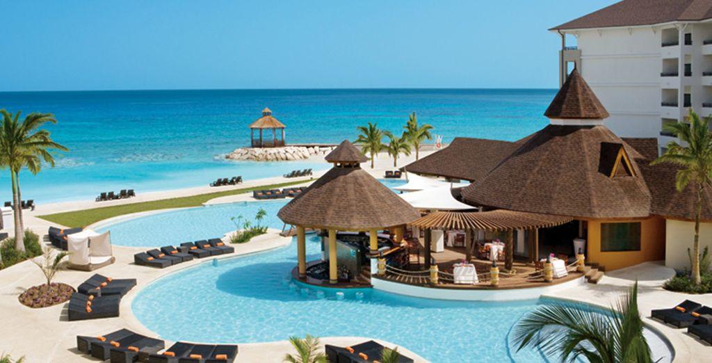 Vous découvrirez un sublime havre de paix réservé aux adultes - Secrets Saint James Montego Bay 5* Montego Bay