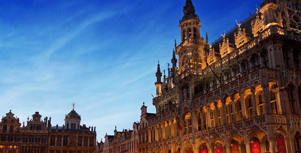 Tombez sous le charme de Bruxelles - Hôtel Barsey by Warwick 4* Bruxelles