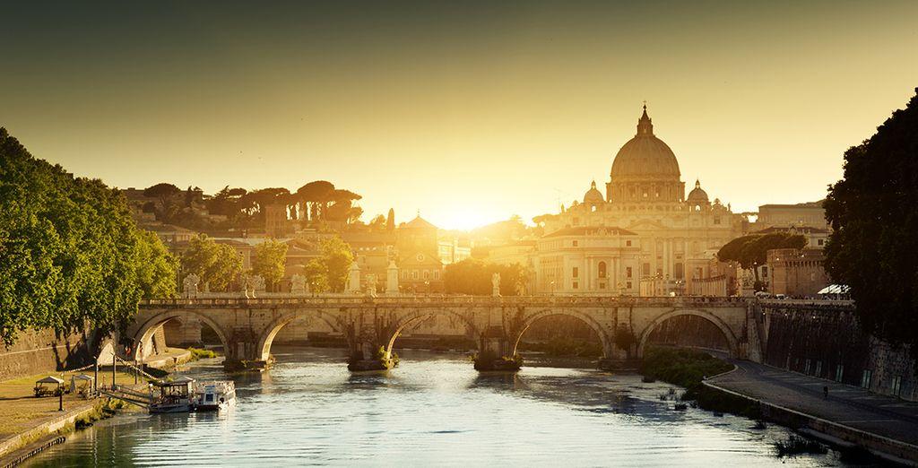 Visite de l'Italie et de Rome