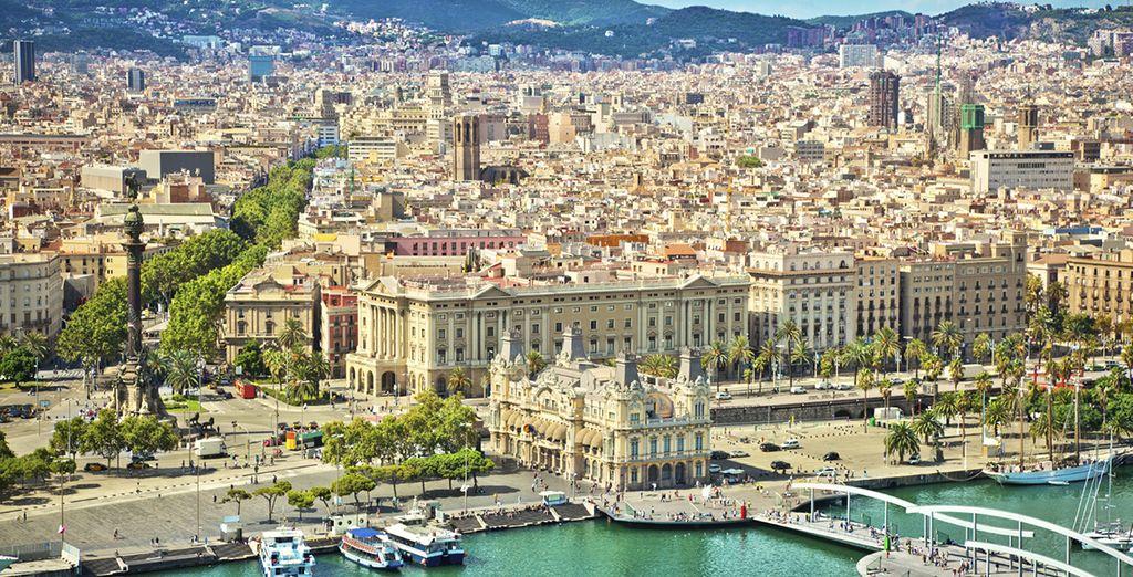 Suivez-nous au cœur de Barcelone !