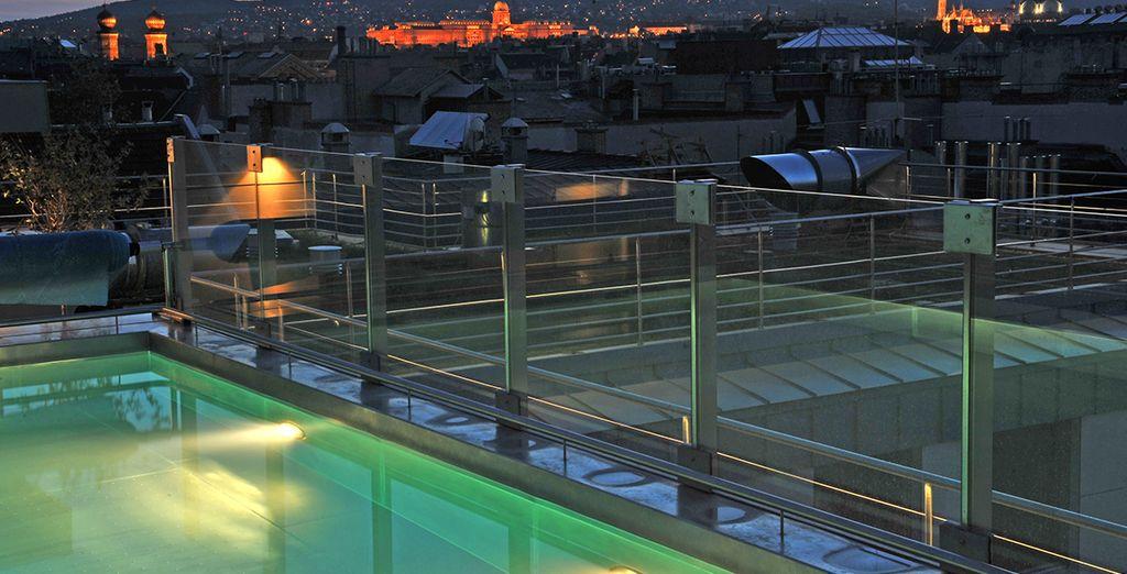 L'hôtel jouit d'un emplacement idéal dans la capitale hongroise