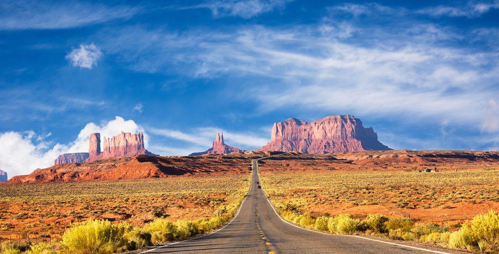 Partez sur les routes emblématiques de l'Ouest