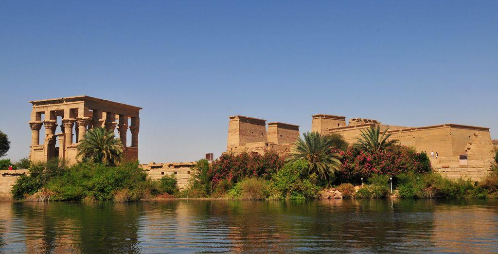 Et voguerez à la rencontre des trésors de l'Égypte