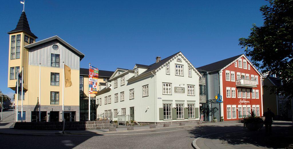 L'hôtel Reykjavik Centrum vous ouvre ses portes