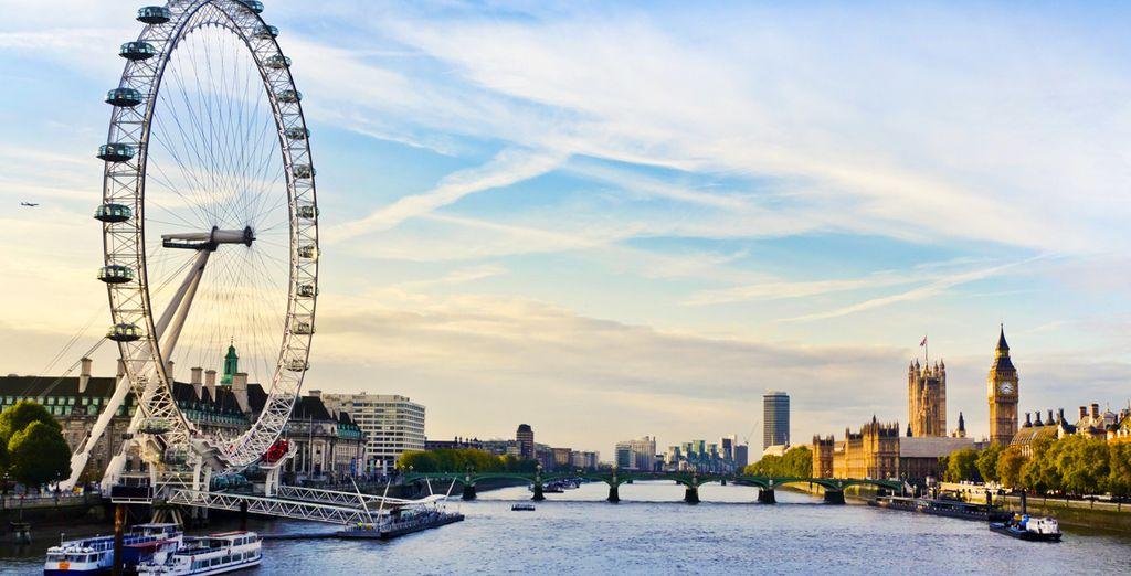 A l'impressionnante London Eye