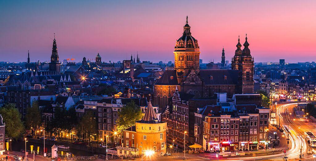 Très bonnes vacances à Amsterdam !