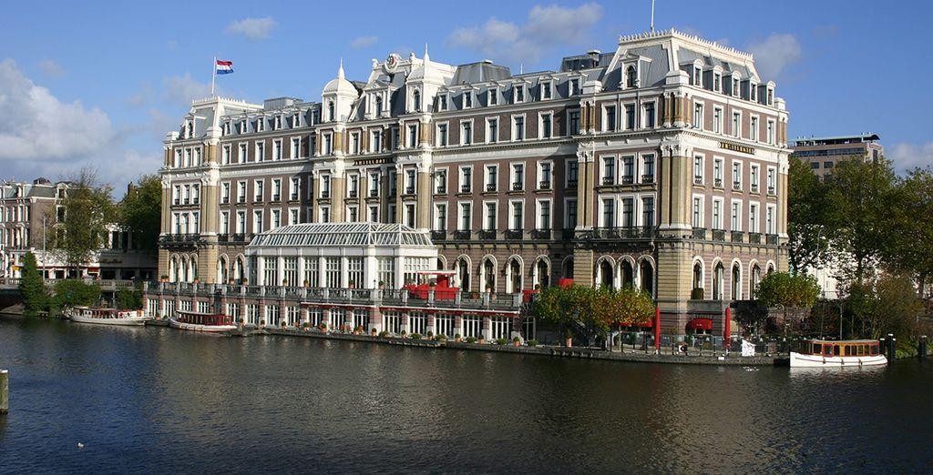 L'hôtel Intercontinental Amstel Amsterdam...