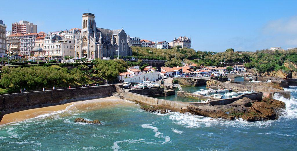 À proximité de Biarritz