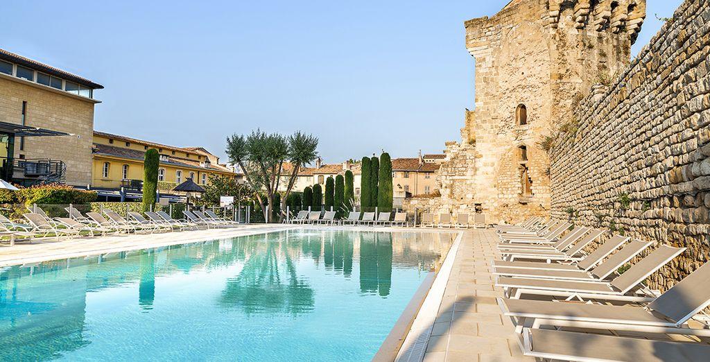 Besoin de souffler quelques jours au cœur d'une ville pleine de charme ? - Aquabella Hôtel & Spa 4* Aix-en-Provence