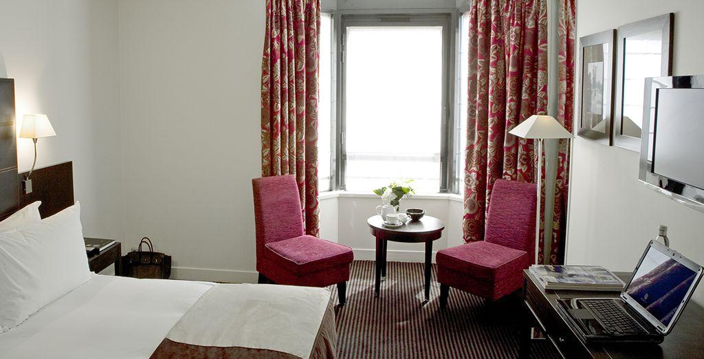 Séjournez dans une agréable chambre