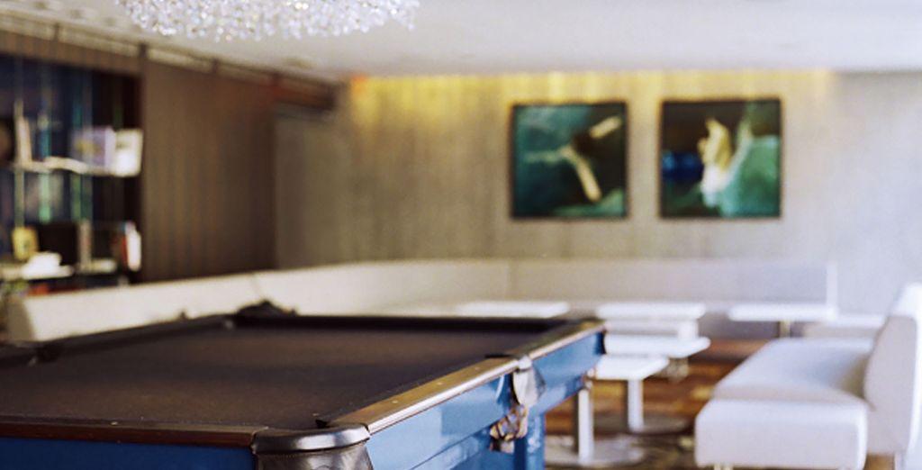 Luxe et raffinement sont au rendez-vous dans ce superbe hôtel