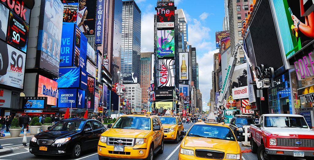 Flânez à Times Square