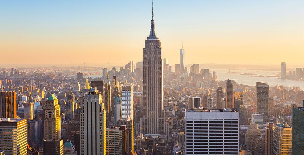 Grimpez en haut de l'Empire State Building