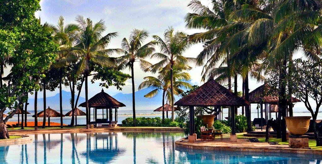 Puis continuez votre périple au Conrad Bali à Benoa