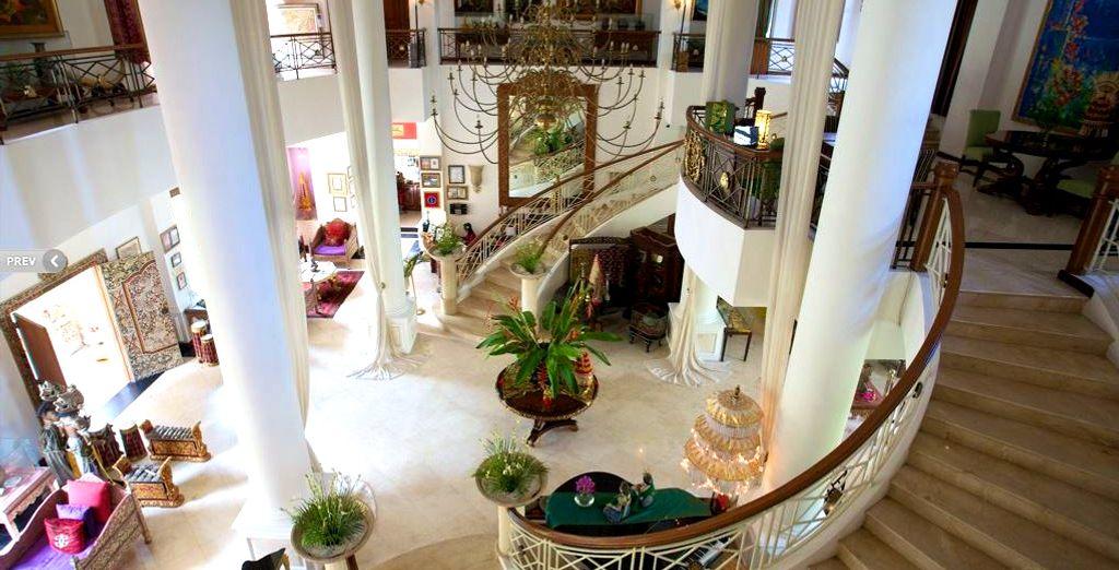 Où vous poserez vos valises à l'hôtel The Mansion Resort & Spa à Ubud