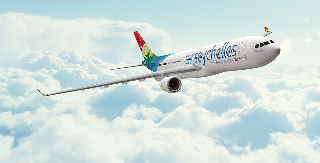Ou choisissez de voyager avec Air Seychelles